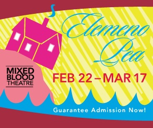 ELEMENO PEA opens at Mixed Blood on Feb. 22nd!