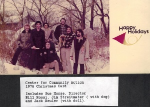 CCA Christmas Card, 1976